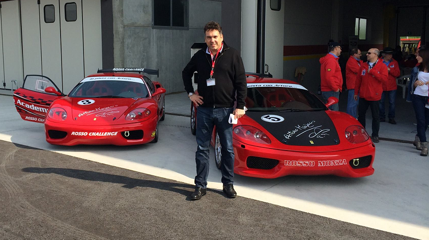 An Unforgettable Experience On A Ferrari Racing Circuit Productivity Engineering Europe Lean Six Sigma Business Process Excellence Training